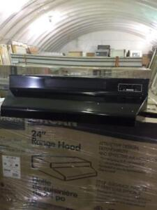 "24"" Kitchen range hood fan $40"