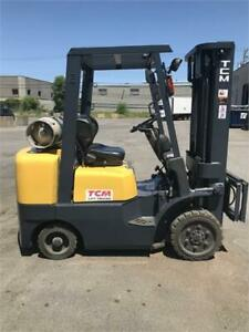 Forklift TCM FCG25F9 , Chariot elevateur 5000 Lbs Lift truck