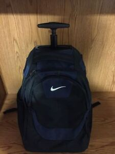 Nike rolling laptop back pack