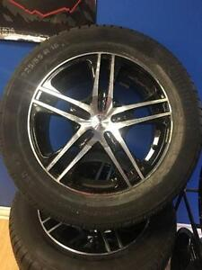 16 inch Fast Reverb + 225 / 55 R16 Continental Winter tires