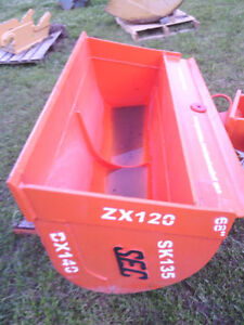 "New Sec 68"" Hydraulic Tilting Ditching Bucket / fits 12-16 ton"