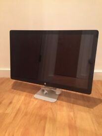 """Apple Thunderbolt Display A1407 27"""" Widescreen LED IPS Monitor inc Speakers Cam Faulty"""