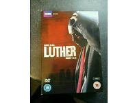 Luther dvd Series 1 and 2 EXETER