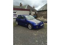 MG ZR trophy looking for swaps