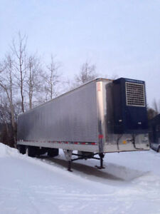 2001 Utility Stainless Reefer, tandem trailer  48' x 102' with