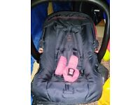 Baby infant group 0 car seat up to 9kg