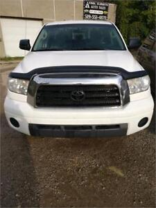 2009 TOYOTA TUNDRA SR5 PICKUP TRUCK SAFETIED FOR $14995+HST TAX