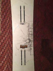 Capita Black SnowBoard of Death (Seth Huot Pro Model)