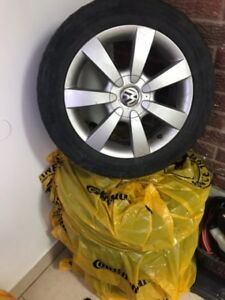 VW rims and tire