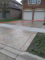 Stamped Concrete Overlay, Parging, Sealing , Porch Restorations