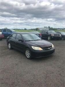 2005 Honda Civic SPECIAL EDITION TOIT OUVRANT A/C 438-887-6355