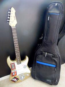 Electric Guitar & Speaker&guitar case for sale Edmonton Edmonton Area image 1