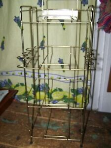 Old Store Display Wire Rack Stand IMPERIALTOBCCO CO.