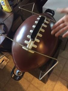 Football Travel BBQ, works great, great shape!