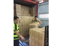 Professional Container Loading/Unloading Service. Experienced Crews with Fixed Pricing Options