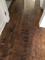 Hard wood floor sanding from 1.25$ sq feet (Royal west)
