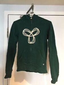 LIKE NEW TNA ARITZIA BRANDED GREEN SWEATER, SIZE SMALL