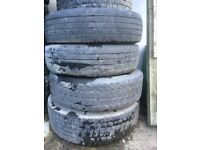 Truck parts tyres rims scania volvo lorry