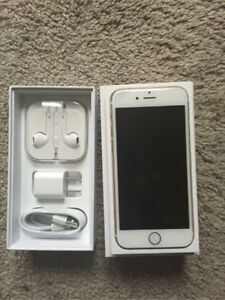WHITE Apple iPhone 6 16GB - BELL / VIRGIN / ROGERS / CHATR