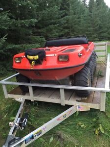 *Attention Hunters! Argo and Trailer for Sale*