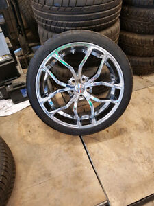 Cooper performance tires with Foose wheels
