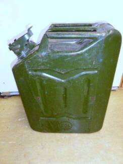 LARGE JERRY CAN 20 LITRE FUEL STORAGE CAN PETROL / DIESEL CAN Marden Norwood Area Preview