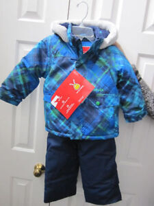Snowsuit, Boys size 3T Krickets 2-piece, BNWT