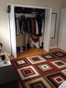 Available May 1st. Walk to Queen's! Master Bedroom,Large Closet!