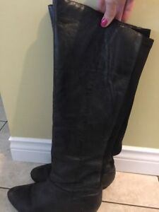 Steve Madden Leather Boots size 6.5 to 7