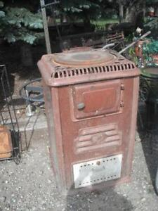 CLEARANCE USED Wood Burning Stove Heater $175.00