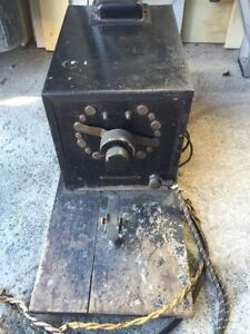 Antique Soldering Station 1922 - Functions Perfectly