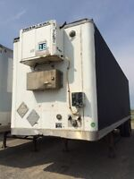 1999 Manac Storage Van, Used Storage Trailer
