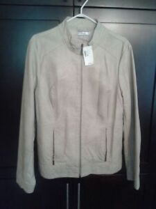Brand New Women's Faux Suede Jacket