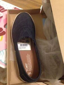 Chaussures TOMS homme denin taille 9