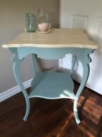 Antique Chalk Painted Table