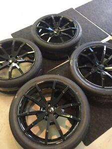 """BRANDNEW CDC OUTLAW 20"""" CONCAVE MUSTANG WHEELS WITH NITTO INVO TIRES!! WIDE BODY"""