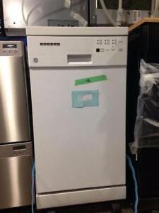 Lave-vaisselle portatif blanc 18''