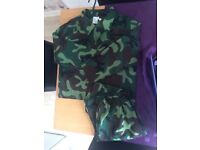 army dressing up costume new without tags age 7-10 years