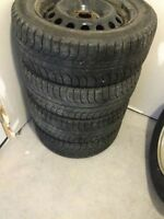 215/55/R16 Micheling winter tires