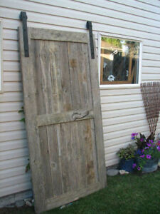 Barn Door- Authentic Reclaimed Barnwood REDUCED TO CLEAR ! Watch