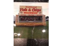 Fish and Chip catering trailer