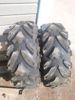 ATV tires mud trax 2 front only
