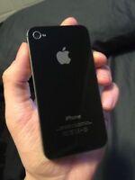BLACK Apple iPhone 4 8 GB - Telus / Koodo