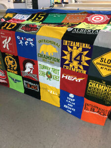 Turn your T-shirts into a Memory Quilt Moose Jaw Regina Area image 4