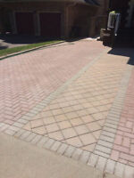 Interlock power wash, repair, weed removal from $2.00 sq.ft.