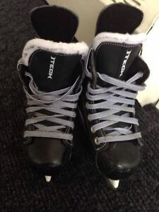 Patins Bauer ITech hockey(Fly-weight) Size Y 11 Patins.Skates