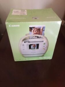 Canon Selphy, picture printer never opened!