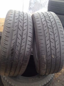 2 Continental Summer tires  2125/55/16