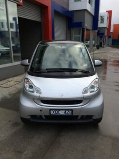 2008 Smart ForTwo 451 MY09 pulse Softip mhd Silver 5 Speed Seq Manual Auto-Clutch Coupe Port Melbourne Port Phillip Preview