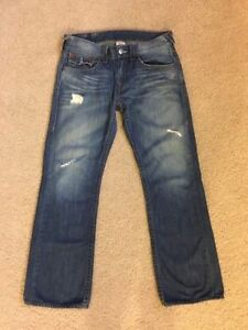 True Religion Authentic designer jeans 31x34